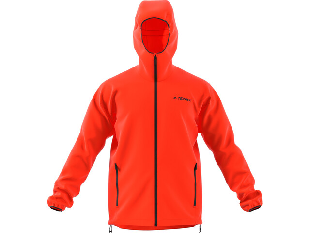 adidas TERREX Agravic Windweave Veste Homme, active orange